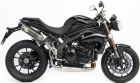 8513 - UITVERKOOP - LV ONE Evo2 carbon TRIUMPH Speed Triple 1050 2011 2012