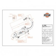 Volledig Systeem SITOPLUS Staal - Honda SH FIFTY mod. 96 1996-